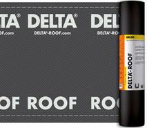 DELTA®-ROOF - міцний та водонепроникний підкладковий килим для покрівель з бітумної черепиці, фальцевої покрівлі. Гідроізоляція для дахів з черепиці та металочерепиці з двома вентзазорами.