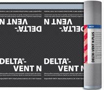 DELTA®-VENT N PLUS / DELTA®-VENT N - дифузійні плівки для утеплених дахів, укладання тільки на утеплювач. Інноваційна технологія BiCo при виробництві нетканої основи.