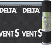 DELTA®-VENT S PLUS / DELTA®-VENT S - дифузійні мембрани підвищеної міцності для укладання на утеплювач чи суцільний настил. Інноваційна технологія BiCo при виробництві нетканої основи.