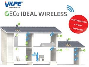 Контроль та управління вентиляцією VILPE® ECO IDEAL