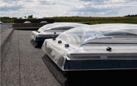 Зенітні вікна VELUX для плаского даху